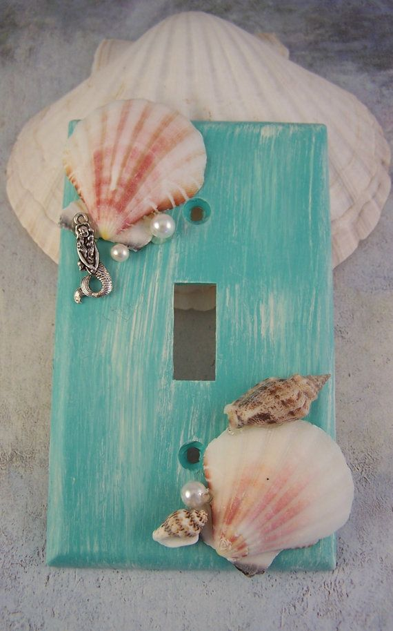 Mermaid Switchplates, Mermaid Decor, Mermaid Switch Plate Covers Mermaids, Mermaid Bedroom Bathroom, Mermaid Nursery, Beach Home Decor Walls #mermaidbathroomdecor