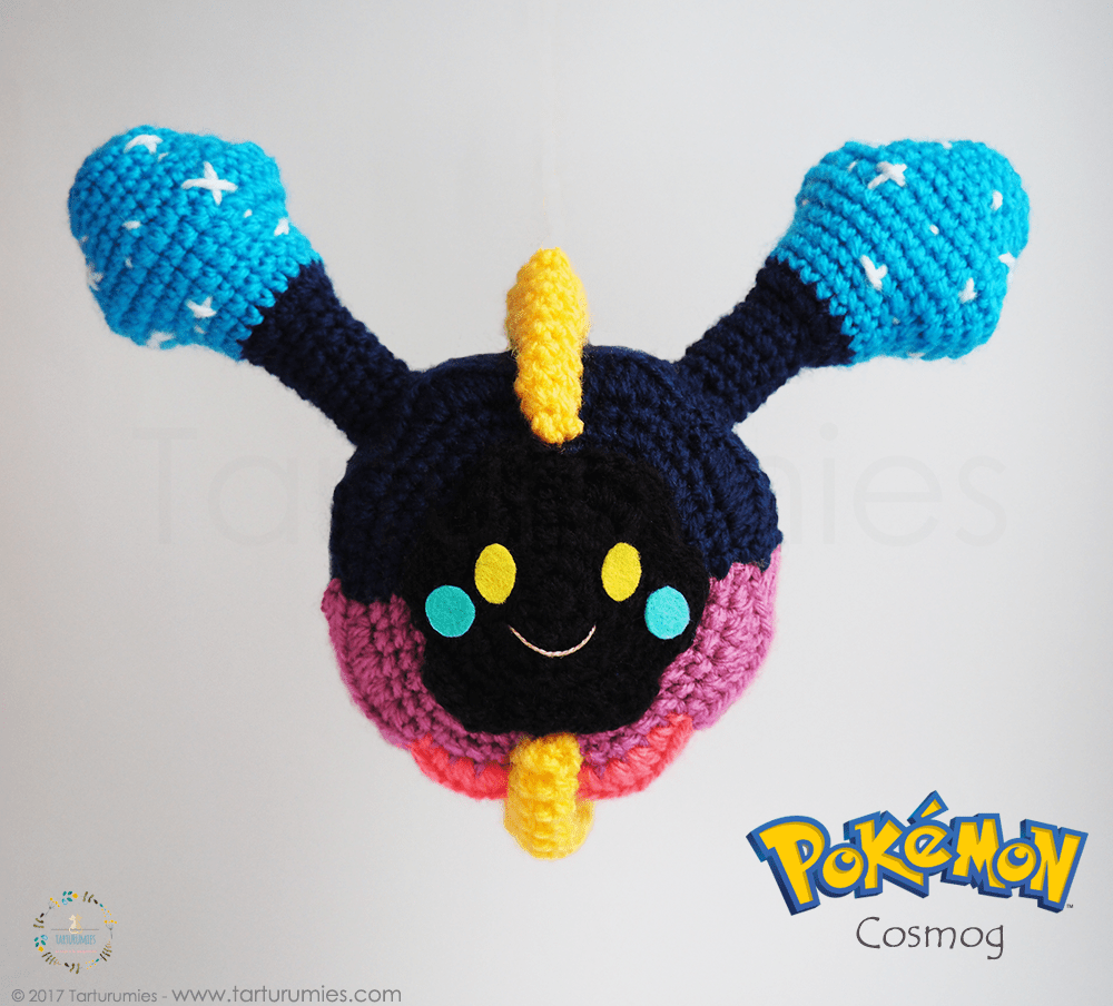 Amigurumi Patrón: Pokémon Cosmog - Tarturumies | crochet | Pinterest