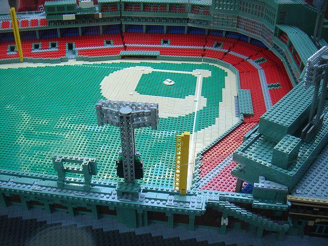 Lego Fenway | Fenway park, Legos and Park