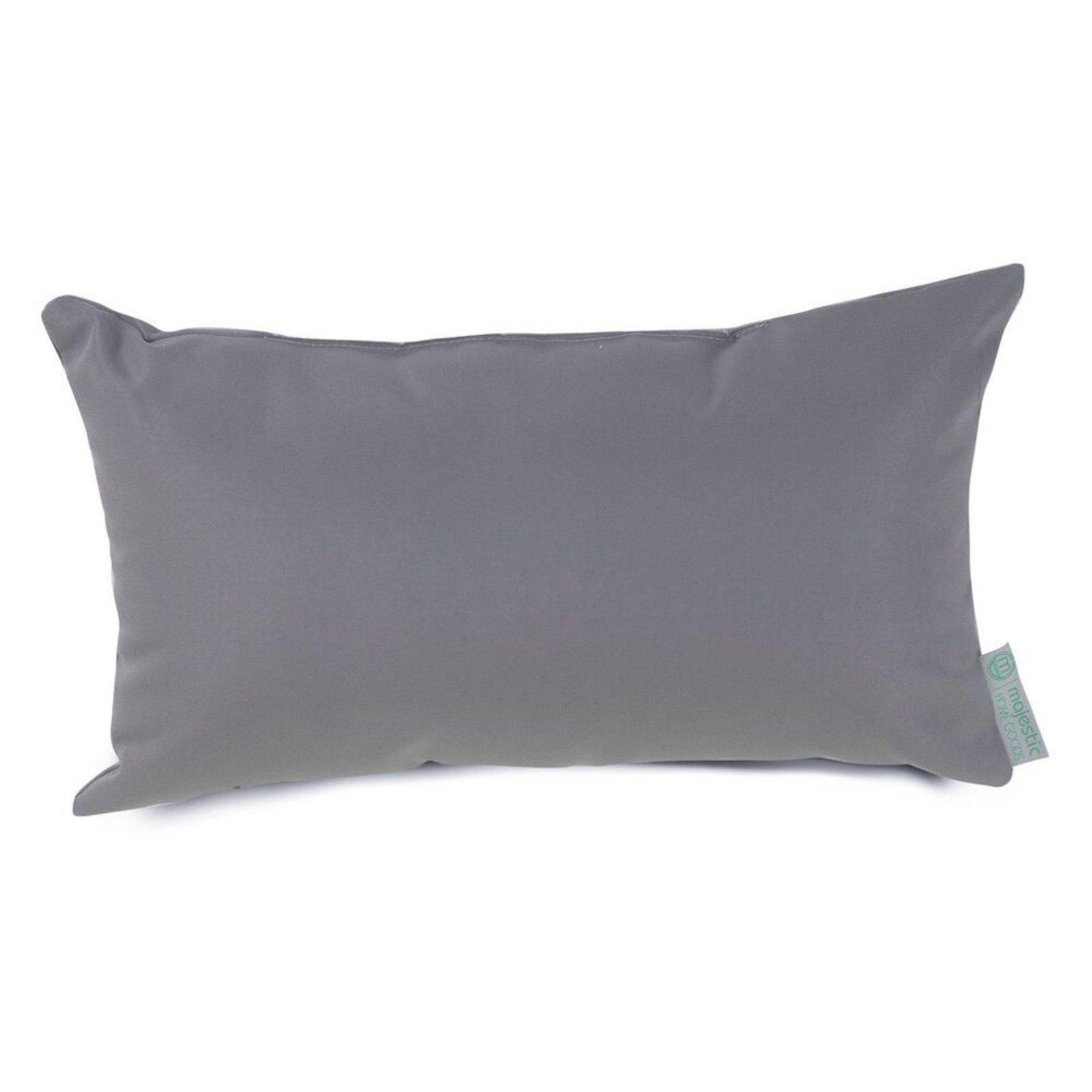 Indoor Outdoor Solid Throw Pillow