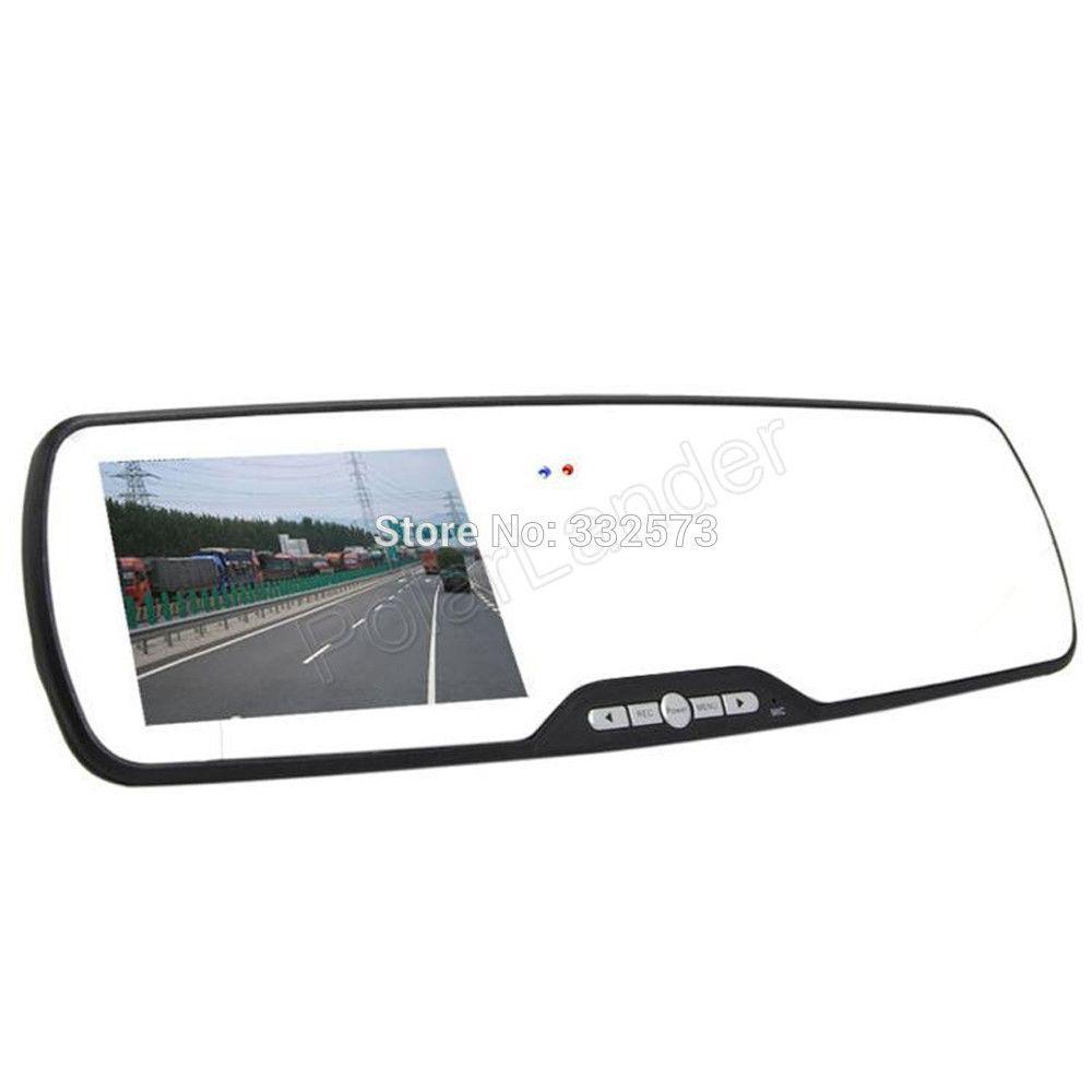 Car Rearview Mirror Camera Video Recorder Car DVR Dual lens Full HD 1080P Camcorder Dash Cam G-Senor Night Vision