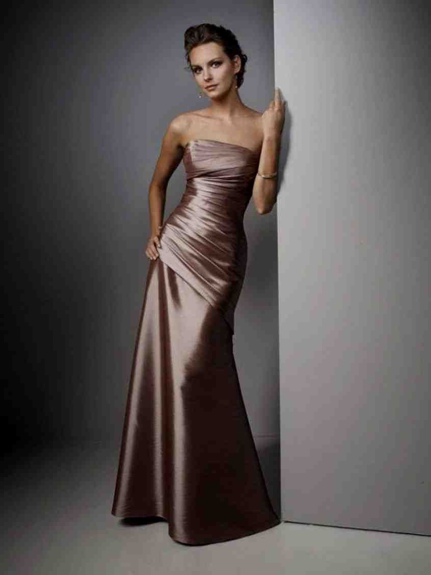 Dark Champagne Bridesmaid Dresses | champagne bridesmaid dresses ...