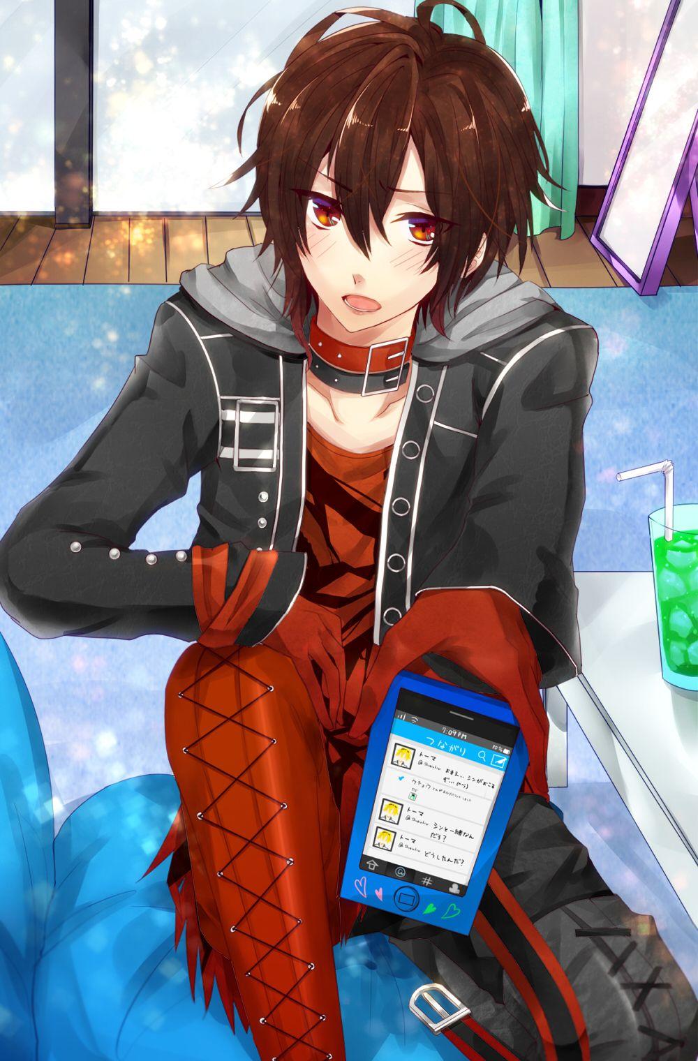 Anime guy. I think he's from uta no prince sama?? I don't