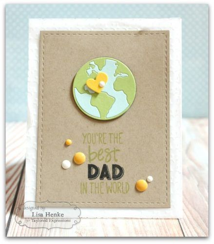 You're the Best Dad card by Lisa Henke for @taylor