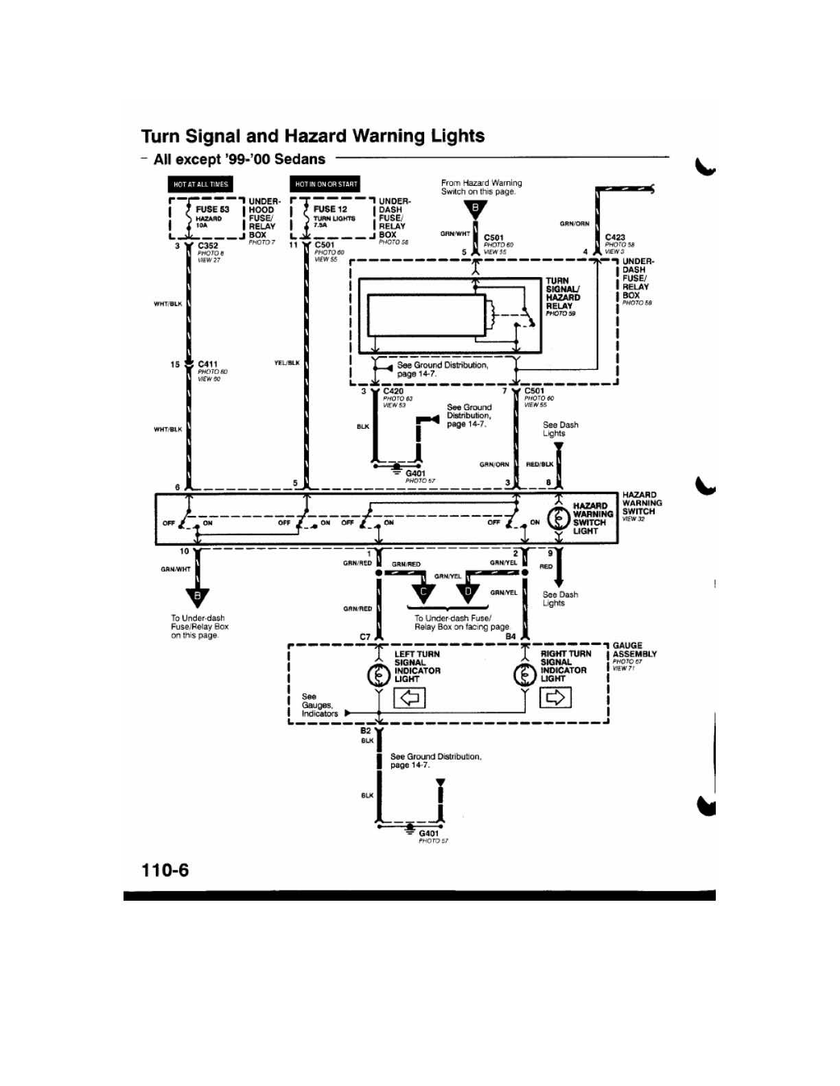 medium resolution of turn signal wiring diagram needed d series org within 99 civic