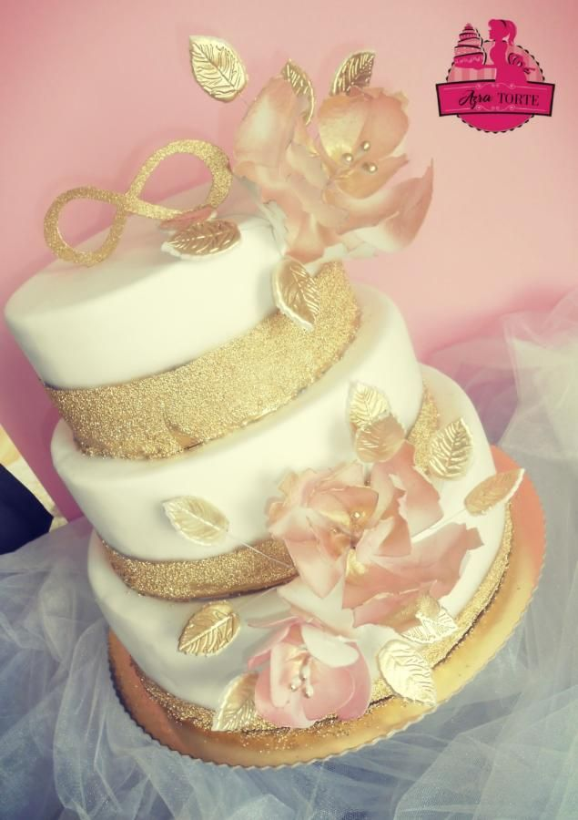 Pin by CakesDecor.com on Wedding Cakes in 2018 | Pinterest | Gold ...