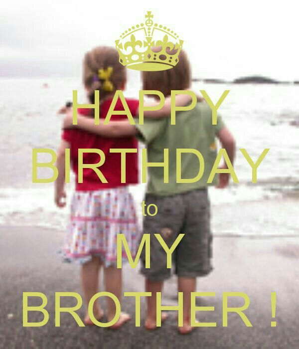 My Brother Special Occasion Wishes Happy Birthday Brother Happy