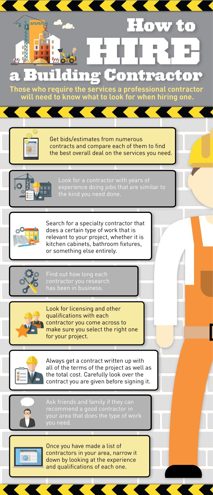 Those who need to hire a professional building contractor