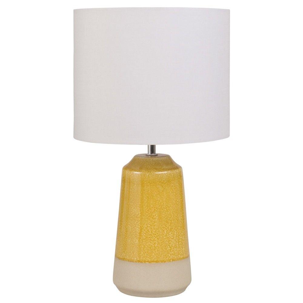 Lampe Aus Gelber Keramik Mit Maulwurfsgrauem Lampenschirm Jetzt Bestellen Unter Https Moebel Ladendirekt De Lampen Tischle Keramik Lampen Lampe Lampenschirm