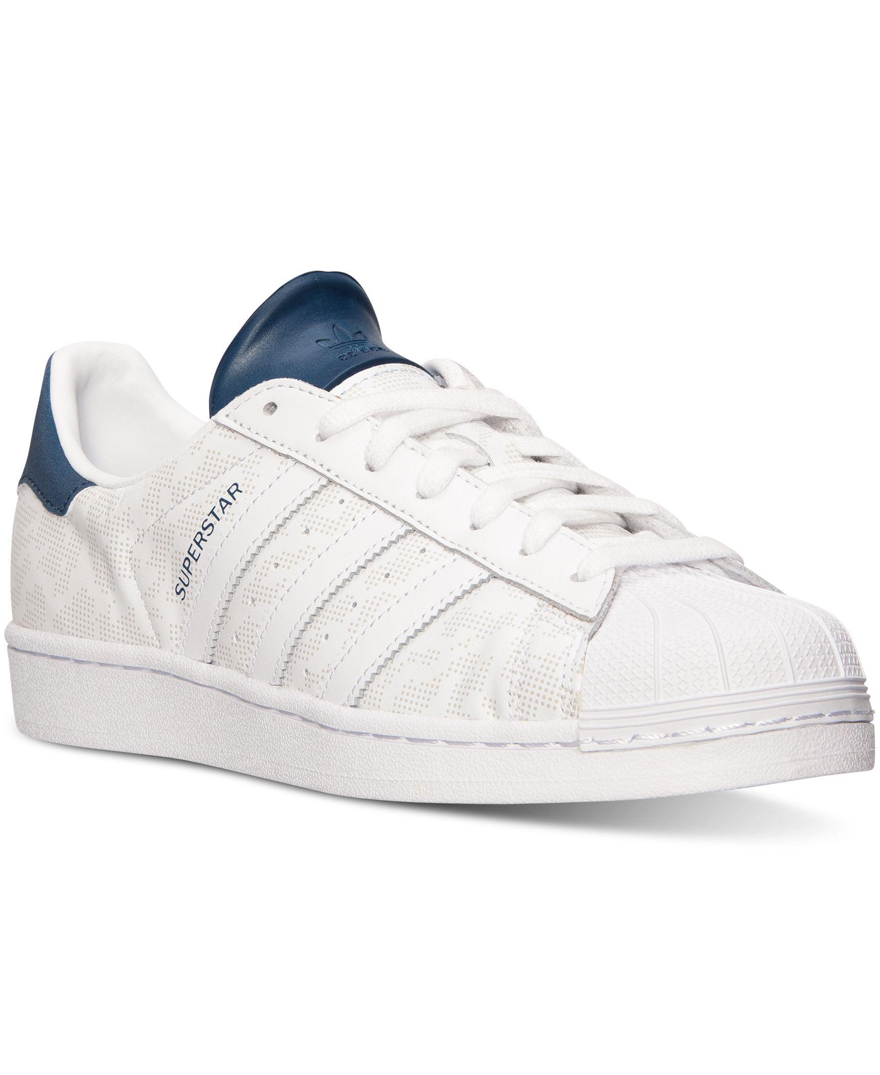 adidas superstar degli uomini le mimetiche casual scarpe dal traguardo