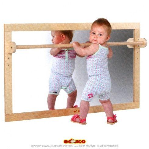 Miroir (127x69cm) | Miroirs, Salles de jeux et Montessori