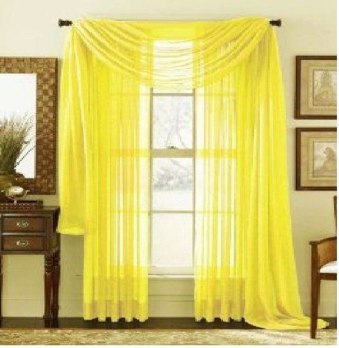 Beautiful Yellow Mustard Curtains Sale Yellow Sheer Curtains