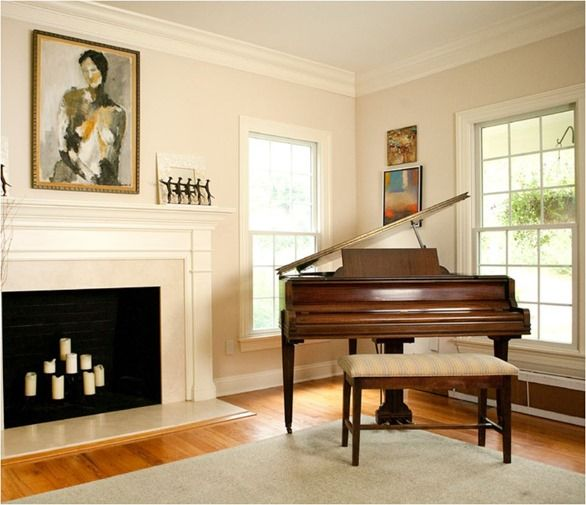 Best Baby Grand Pianos Grand Piano Room Piano Living Rooms New Living Room 400 x 300