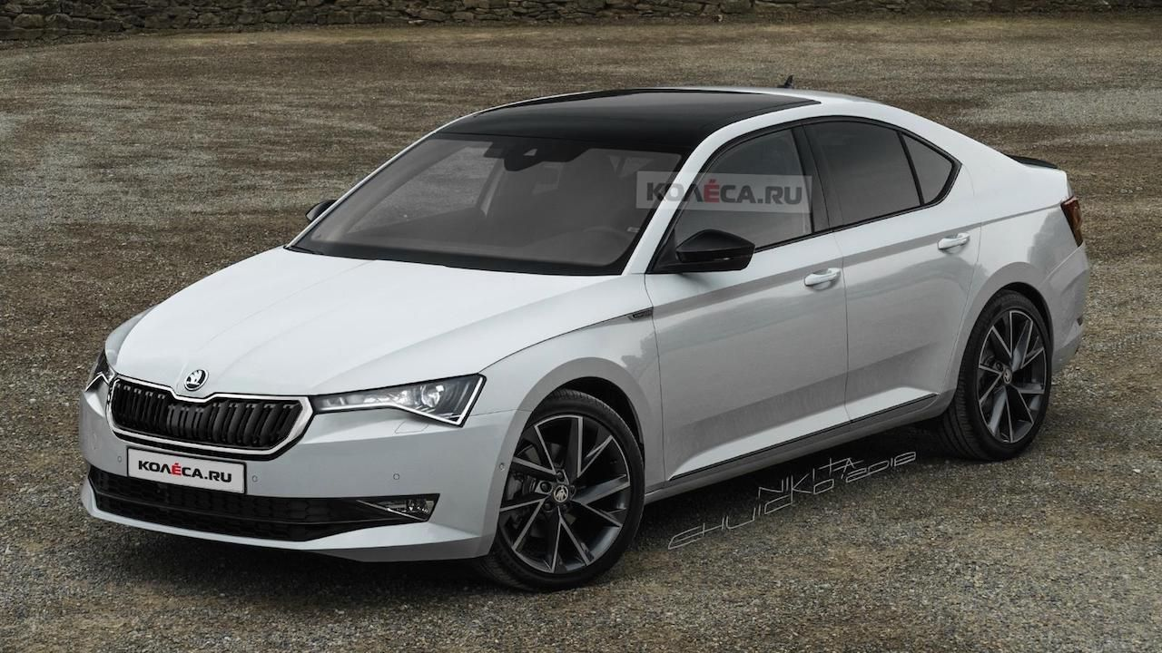 2020 Skoda Superb Concept Skoda Superb Skoda Car Review