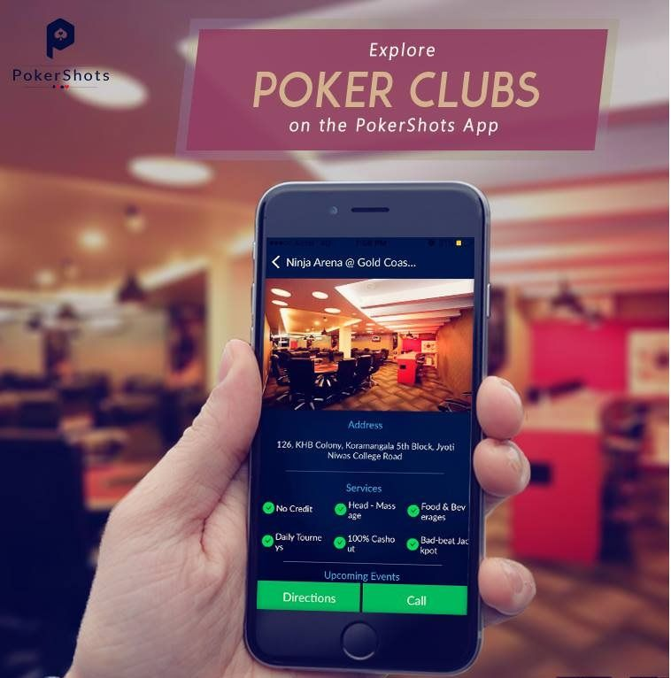 Get all details about poker clubs around you on PokerShots