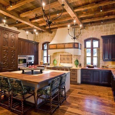 spanish style traditional kitchen kitchens