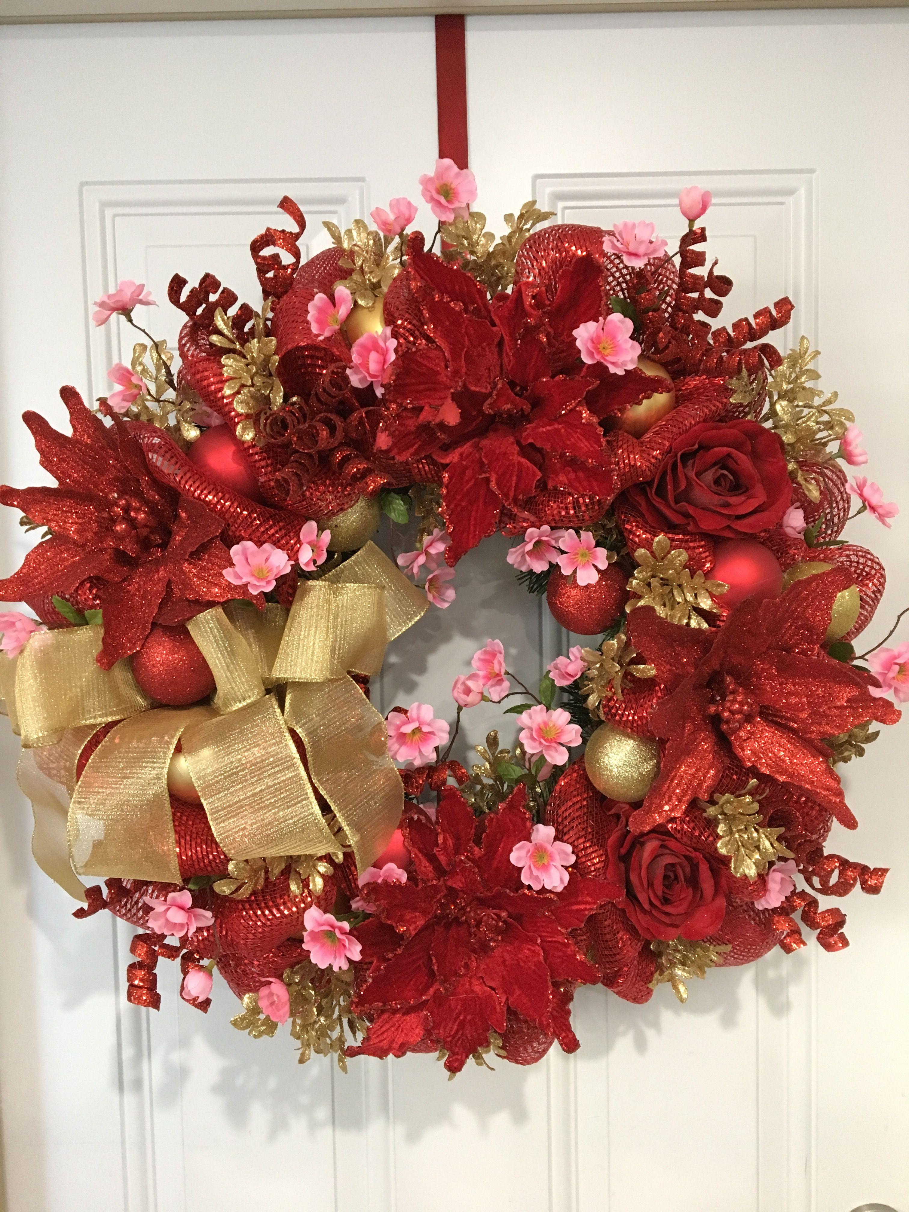 Chinese New Year wreath Christmas wreaths diy, Asian