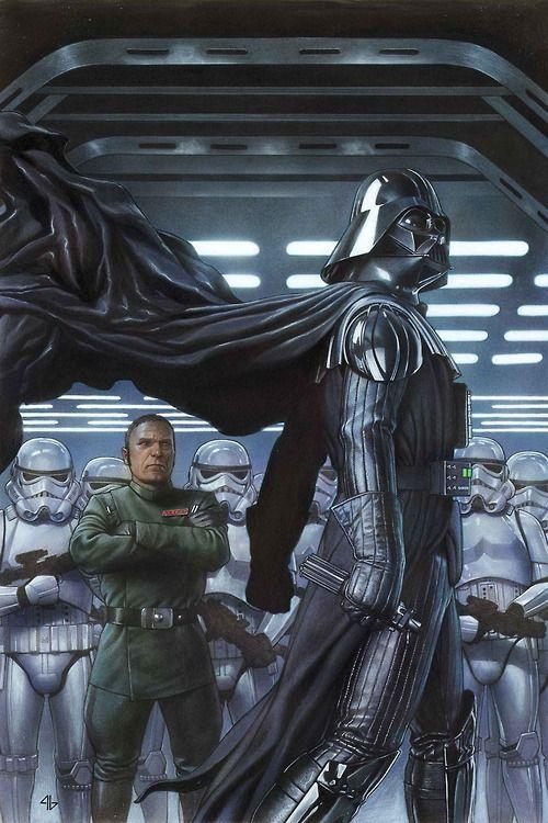Darth Vader #2 cover by Adi Granov #comics #art