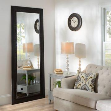Bronze Matte Framed Mirror, 33.3x79.3 in | Full length ... on Floor Mirrors Decorative Kirklands id=33653