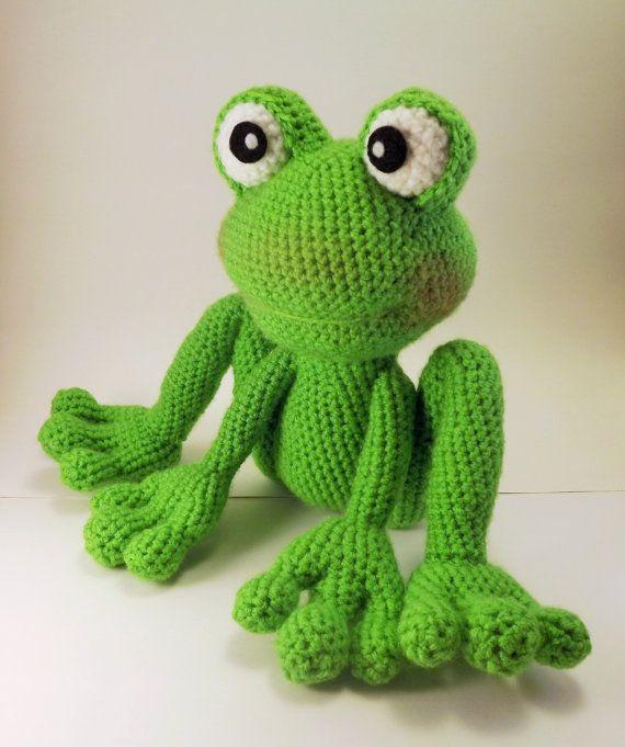 Froggy Amigurumi Pattern Frog Crochet Pattern - PDF file only, doll ...