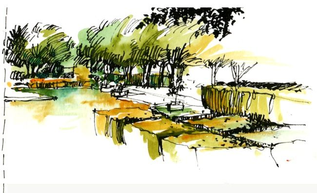Landscape Architecture Drawings land8 member spotlight: interview with urban sketcher chunling wu