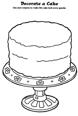 Decorate A Cake Coloring Pinterest Dibujos Boda Torta Dibujo