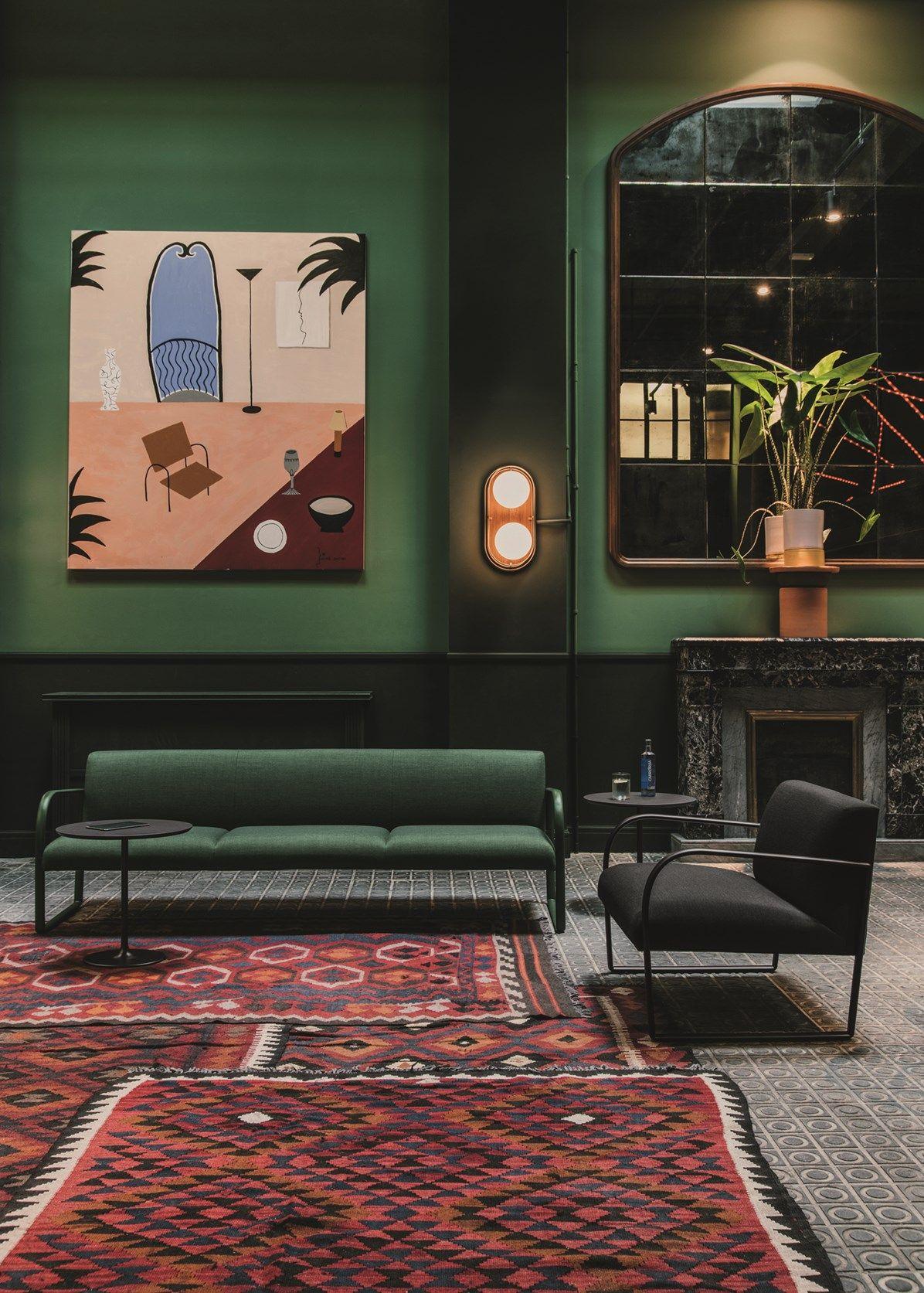 Rome  Le Palazzo Fendi par Dimore Studio   - INTERIORS -   Interior, Hotel  interiors, Interior design 4c4f26e1219