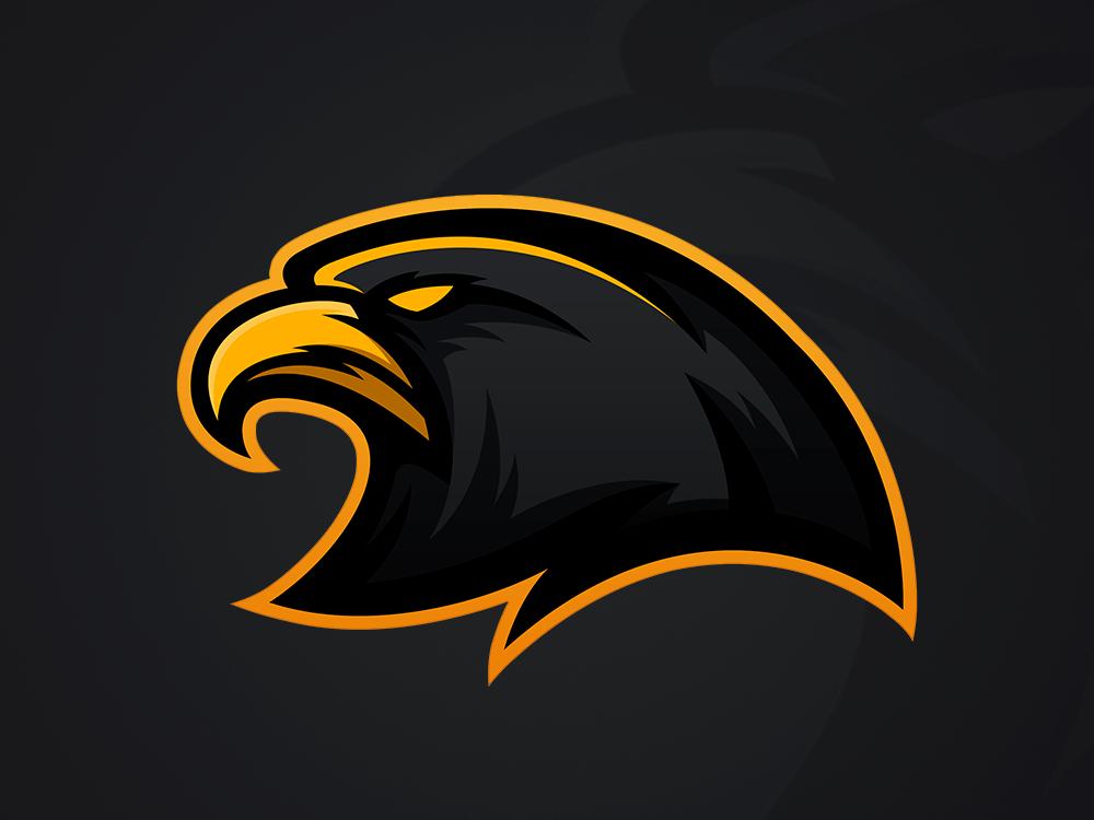 Eagle Mascot Logo by Marek Trela on Dribbble di 2020