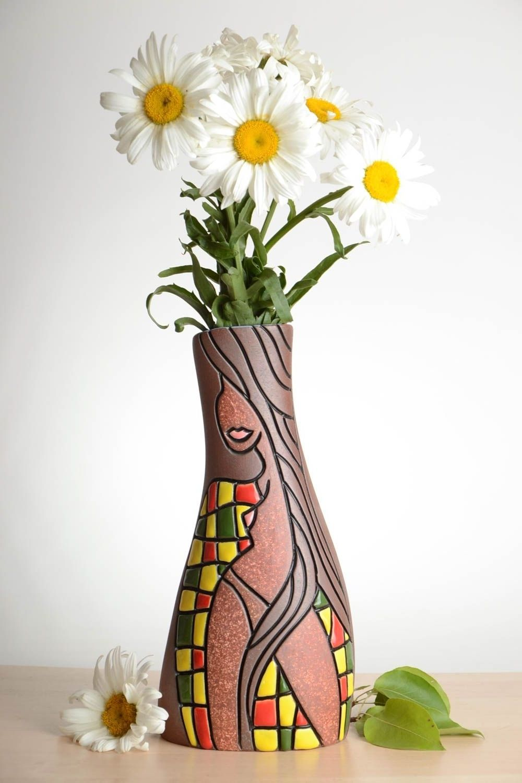Clay flower vase decoration class vase pinterest flower clay flower vase decoration class reviewsmspy