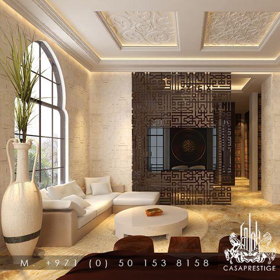 Modern Arabic Interior -- #Design #InteriorDesign: