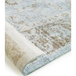 Photo of benuta Viskoseteppich Yuma Taupe 240×320 cm – Vintage Teppich im Used-Look benuta
