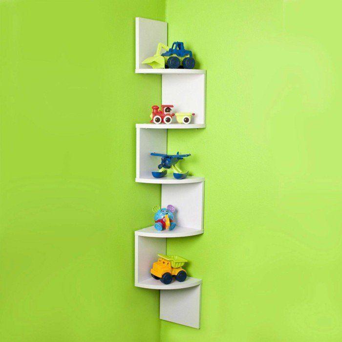 etagere murale design pour la chambre d\'enfant   Zinc   Pinterest ...