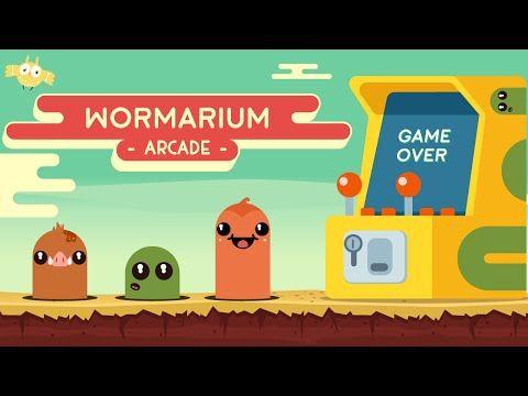Wormarium Arcade on Behance