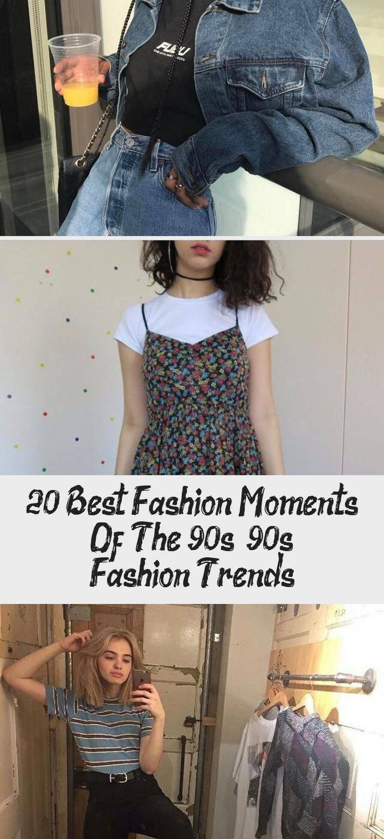 20 Best Fashion Moments Of The 90s – 90s Fashion Trends - Oktoberfest #90sfashiontrends