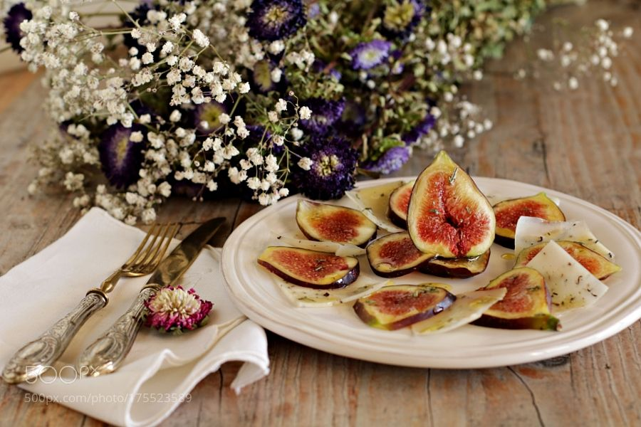 Carpaccio di fichi - Slice figs by martarin #food #yummy #foodie #delicious #photooftheday #amazing #picoftheday