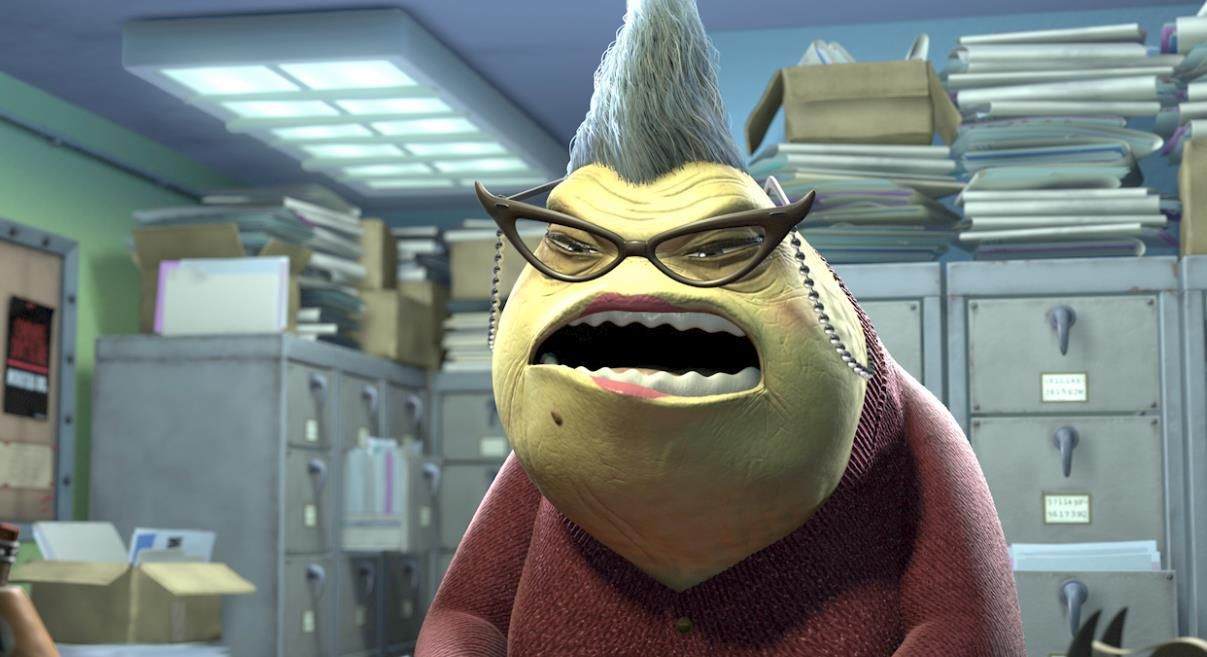Uncategorized Roz From Monsters Inc roz im watching you wazowski always disney watching