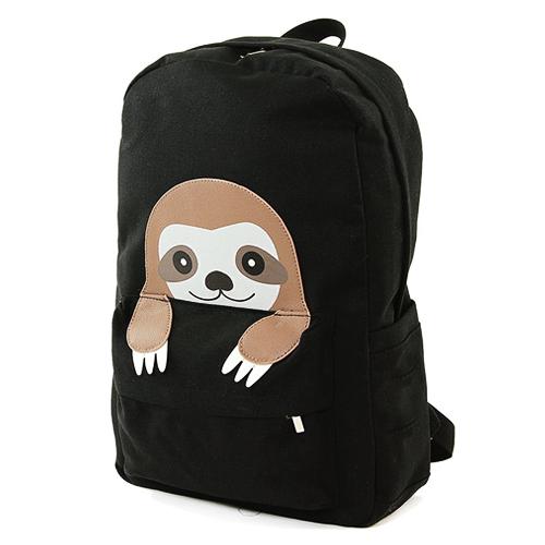 6a96ddaf27e8 PEEKING SLOTH BACKPACK – Pop Gallery | Sew this- R | Sloth, Baby ...