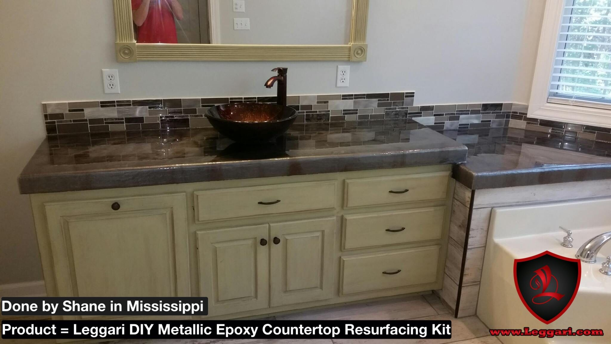 how glass countertops resurfacing companies to concrete countertop a plywood cheap diy with chips make