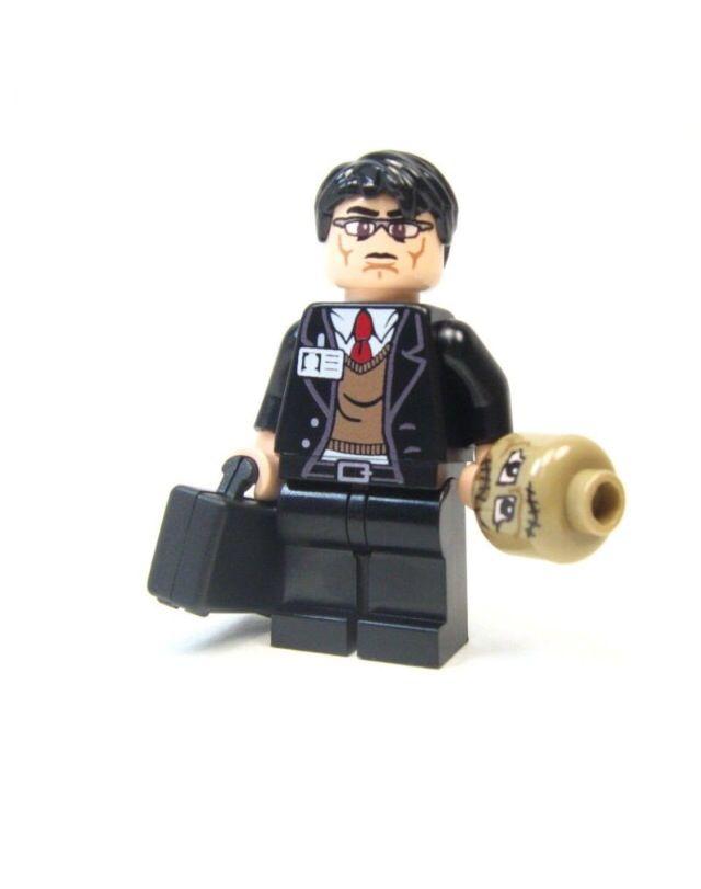 Lego Custom Dr Crane Scarecrow