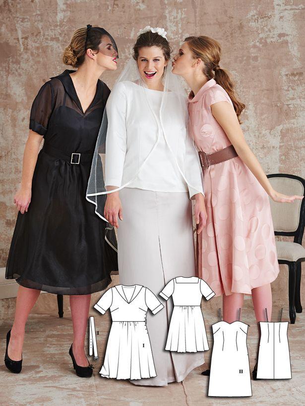 Organza Dress with Petticoat (Plus Size) 03/2016 #139B | Pinterest ...