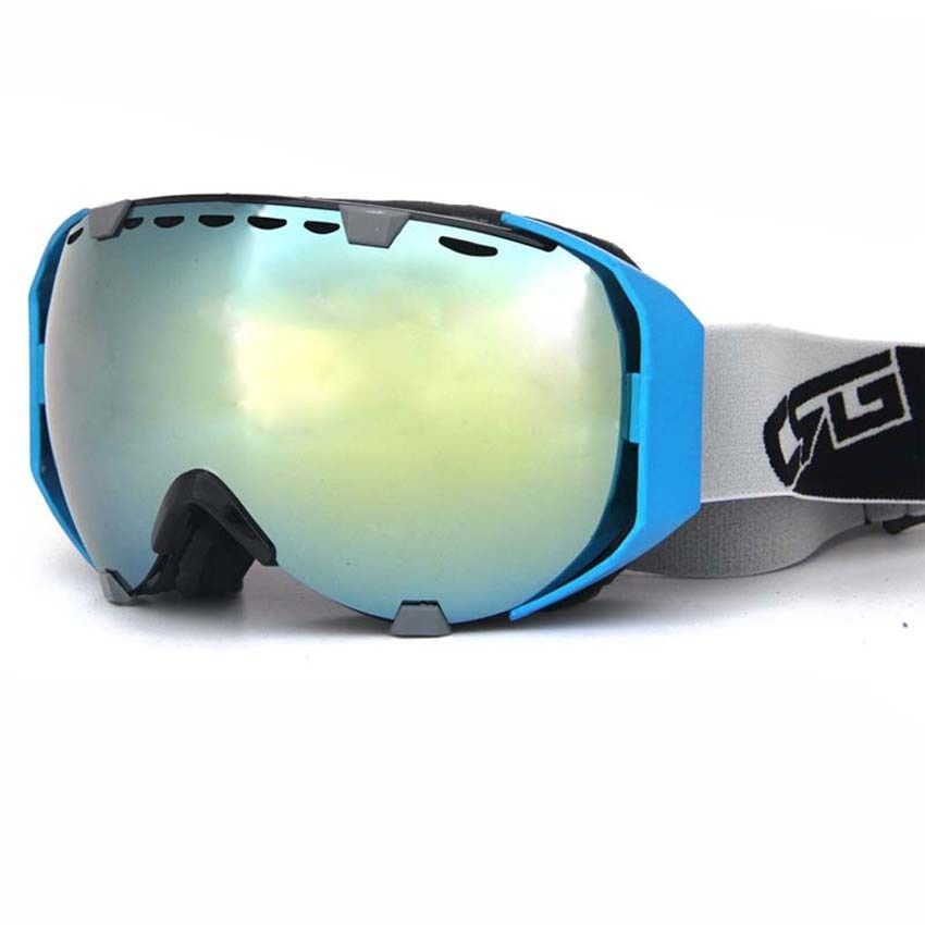 Skibrille Anti fog Snowboardbrille UV-Schutz Sonnenbrille Sicherheitbrille I0QUlLC