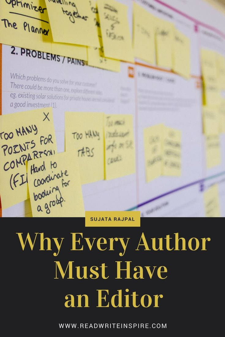 Why Every Author Must Have an Editor - Read Write Inspire | i ...