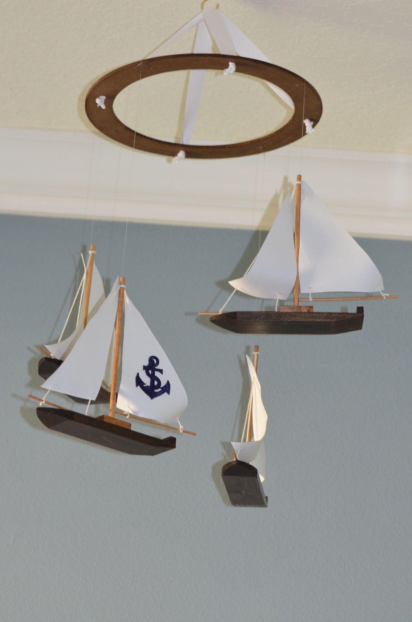 Baby Nash S Vintage Nautical Nursery: Sailboat Nautical Nursery Mobile