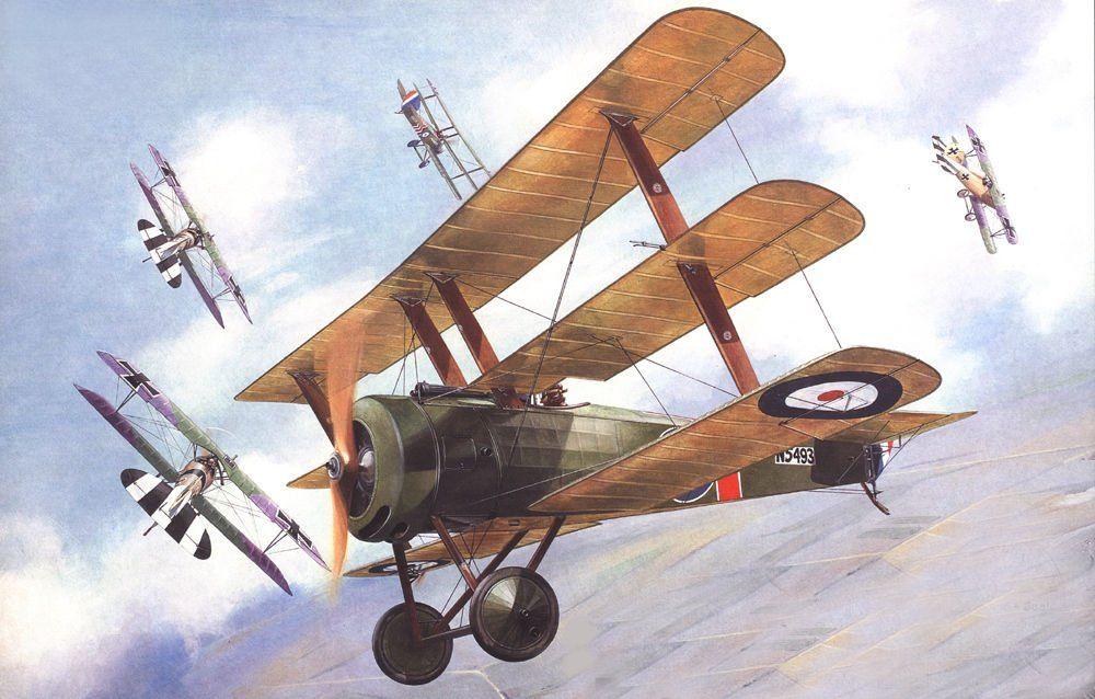 Sopwith Triplane of Canadian fighter pilot, Raymond Collishaw, by Taras Shtyk