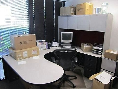 Herman Miller U Shape Private Offices Used Desks Used Private Office U Shape Desk