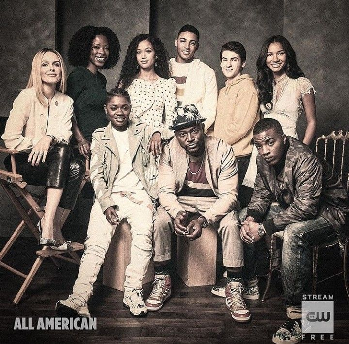 All American Cast CW (With images) American tv show