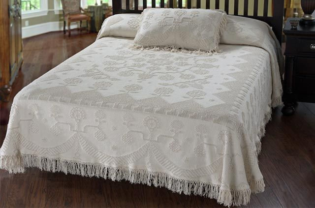 Bates Mill Store Traditionally Loomed Bedspreads Since 1950