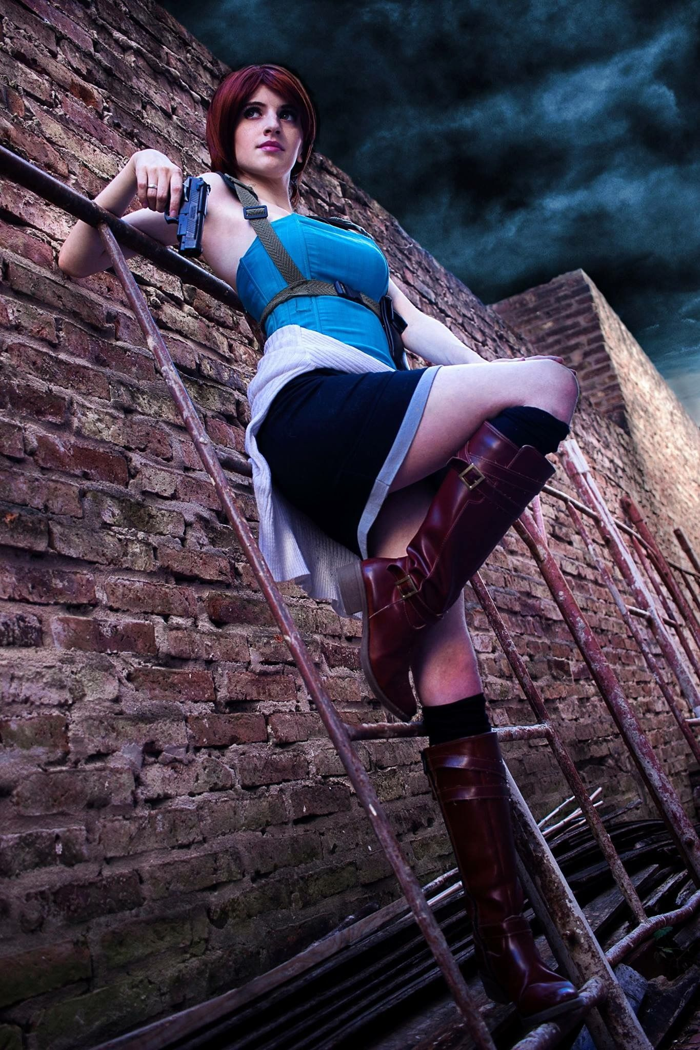 Resident evil jill valentine cosplay nude