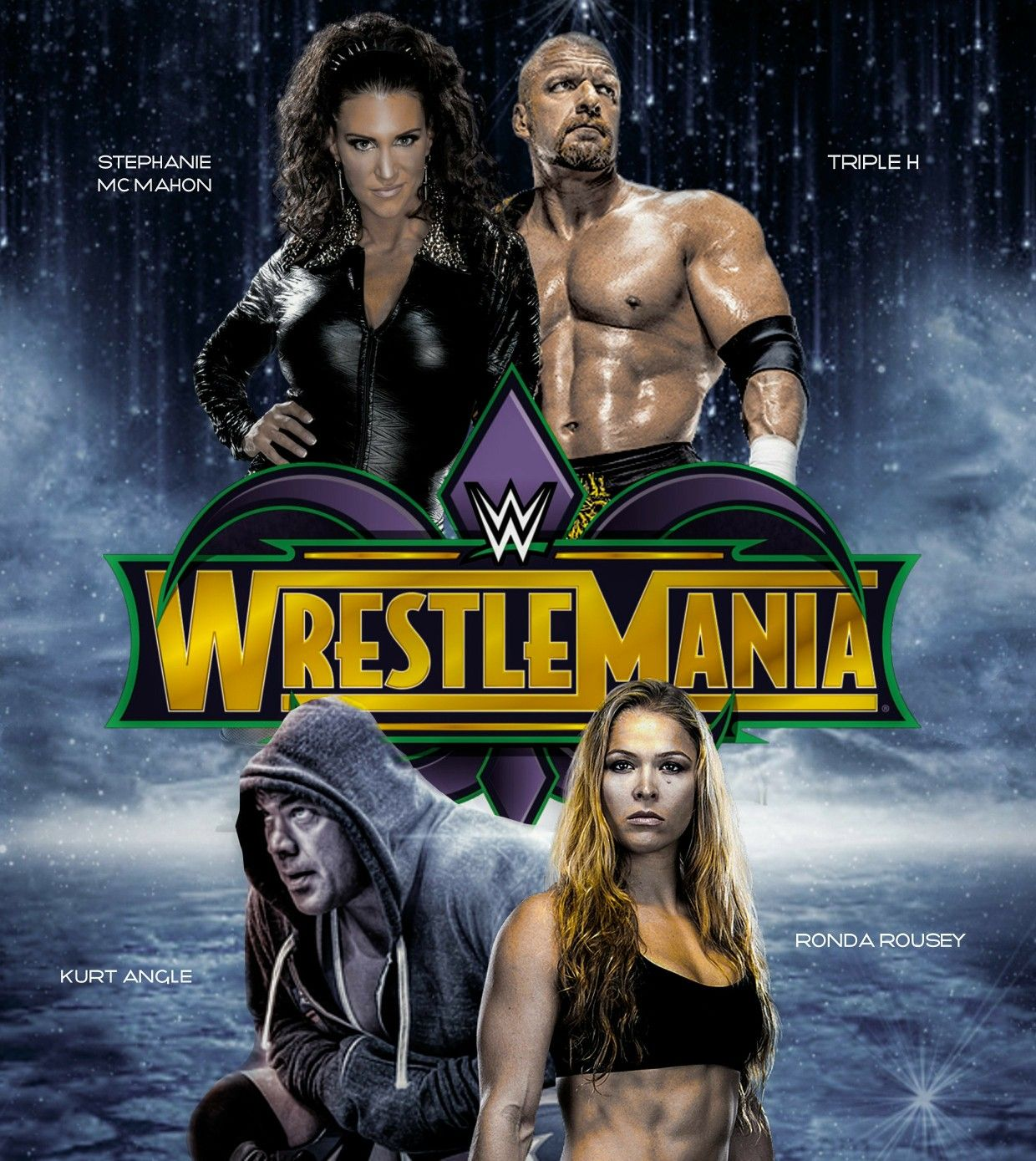 Latest News Update Hhh: WWE WrestleMania 34 (April 8th, 2018)