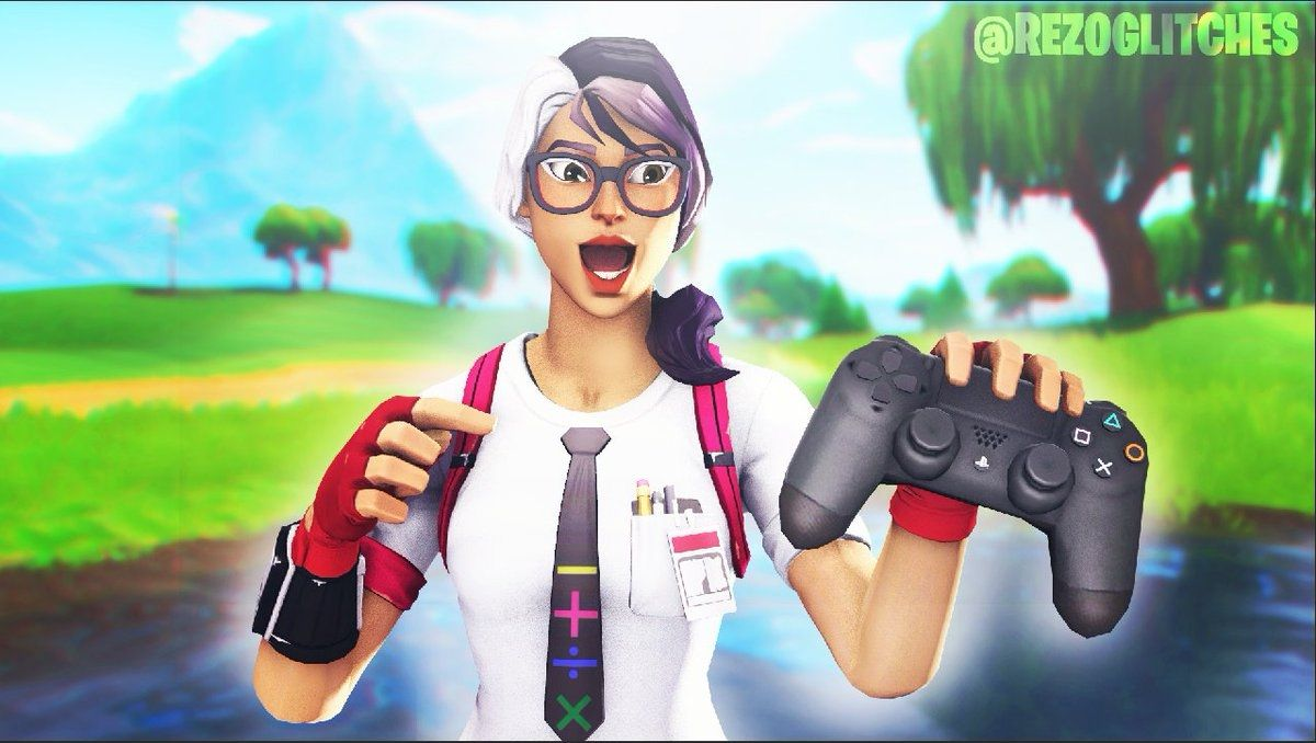 Skin Fortnite Avec Une Manette Dans Les Mains Png Fortnite Sfm Thumbnail Controller Fortnite Cheat S In 2020 Photomontage Fortnite Skin